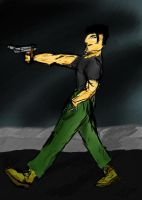 Man With a Gun by Tigermano