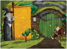 The Wisdom of the Shire by rsienicki