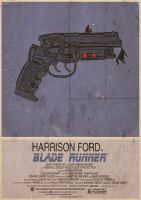 Blade Runner Alternative, Minimalist Poster by 3ftDeep