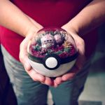 Poke Ball Terrarium - Weezing - Medium by The-Vintage-Realm