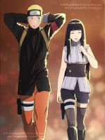 NaruHina Month Day 2 Mission Together by angelcake12