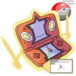 Rotom DS Form by Pokemon-Mento