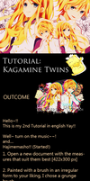 Tutorial: Kagamine Twins [ENG ver.] by AndrogynousPunky