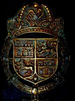 Spanish Canon Coat of Arms Guam by spidermonkeykiss