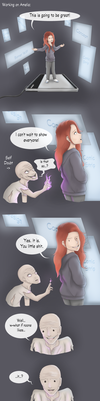 Life in a Box - Self Doubt by UnstableArtist