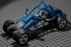 3D Lego Car by PatrickJoseph