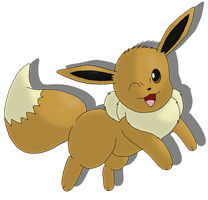 1: Eevee by Avi-the-Avenger