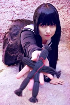 Jigoku Shoujo Cosplay _ Enma Ai by NeeHime