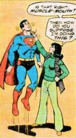 Lois Lane lifts Superman with one finger by theasshunter