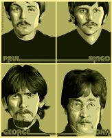 The beatles by diplines