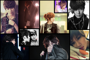 Taemin Wallpaper by Ebony-Rose13