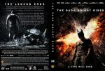The Dark Knight Rises DVD Cover: A Fire Will Rise by Mike1306