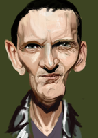 Christopher Eccleston by SahchaS