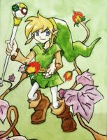 Link, The legend of Zelda by DO-anotherstory