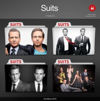 Suits Premium TV Folders by VisionFolders