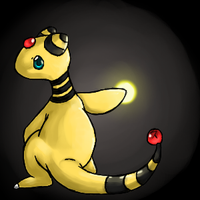 Oh noes, hes angry - Ampharos by Kureculari