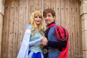 Princess Aurora and Prince Philip COSPLAY by LD by GFantasy92