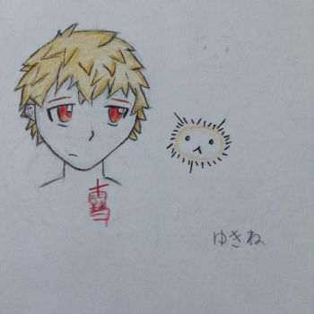 Yukine traditional by the-revenge-reaper