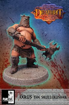 Cerus The Skullcrusher by Pure Evil Miniatures by PureEvilMiniatures