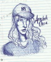 Annabeth Sketch by naomicb