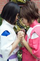 Haku and Chihiro | Spirited Away by m-squaredphotography