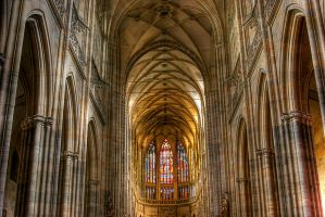 Prague Cathedral by someguycalledmark