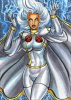 STORM ORORO PERSONAL SKETCH CARD by AHochrein2010