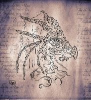 Saphira on letter by Dual-Sensity
