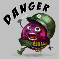 Grape Danger by Mig515