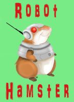 Robot Hamster by amydrewthat