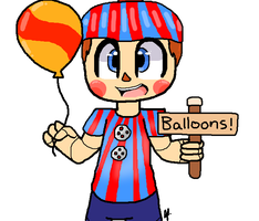 Balloon Boy by JordanoXx