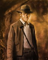 Indiana Jones by Matou31