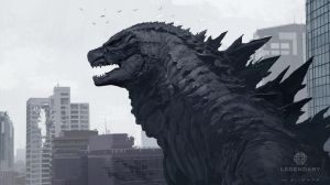 Godzilla Head Design by skybolt