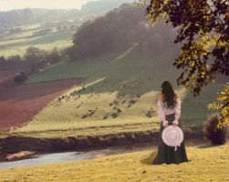 The Vicarious Shepherdess by marigrace