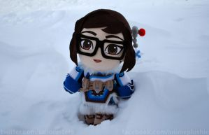 Plush Mei from Overwatch by sakkysa