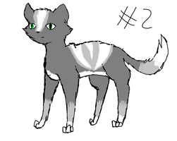 Cat adoptable set one number two by TLartist