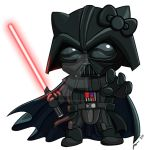 Darth Kitty by PhillieCheesie