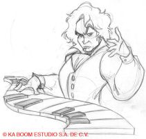 Beethoven 2 by marimoreno