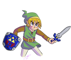 A Link Between Worlds by Strabius