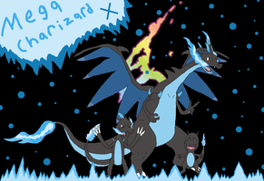 ~Mega Charizard X Family~ by Catty-Mintgum