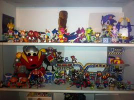 Current sonic collection, dec 2012 by AndrewStrappers