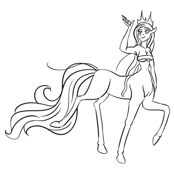Monster Girl Challenge '15: Centaur by HarpieQueen