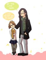 Of Tiny Hufflepuffs and Too Tall Slytherins by ShamanEileen