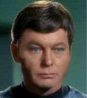 Dr McCoy Airbrushed, Blushed and eyes tinted by Samantha-Bartlett