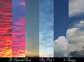 Sky Pack 1 by B-SquaredStock