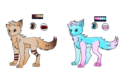 ADOPTABLES 25PTS EACH by Catsomniac