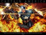 FREEDOM FIGHTER-CAP. AMERICA by isikol