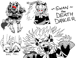 Swan, the Death Dancer by GigaPichu