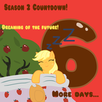 MLP Season 2 Countdown 6 DAYS by TuliothePillbug