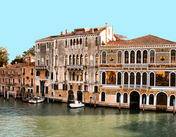 Palacial View Across the Grand Canal 2 by JJPoatree